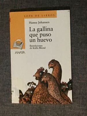 lectura niños gallina que puso un huevo