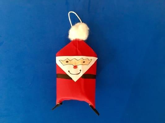manualidades navideñas papa Noel