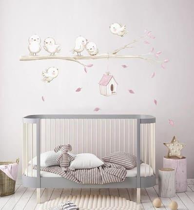 decorar habitación bebe vinilo