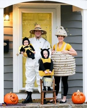 disfraces-familia-abejas