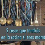 5 cosas que tendrás en tu cocina si eres mamá