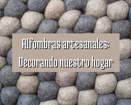 alfombras artesanales
