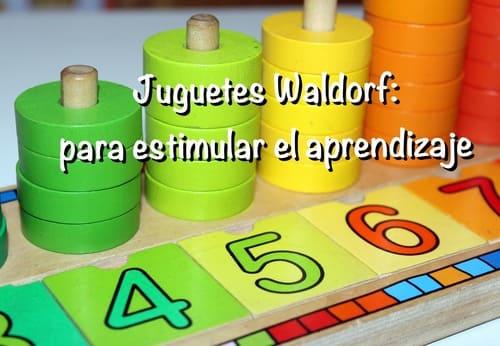 juguetes Waldorf aprendizaje