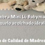 Alfombra Mini Lü Babymats: un suelo acolchado ideal