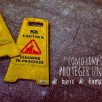 Cómo limpiar y proteger un suelo de barro de forma profesional