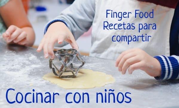 cocinar con niños recetas