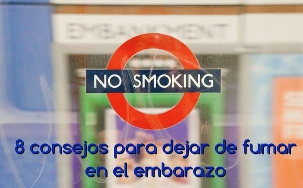 dejar de fumar en el embarazo