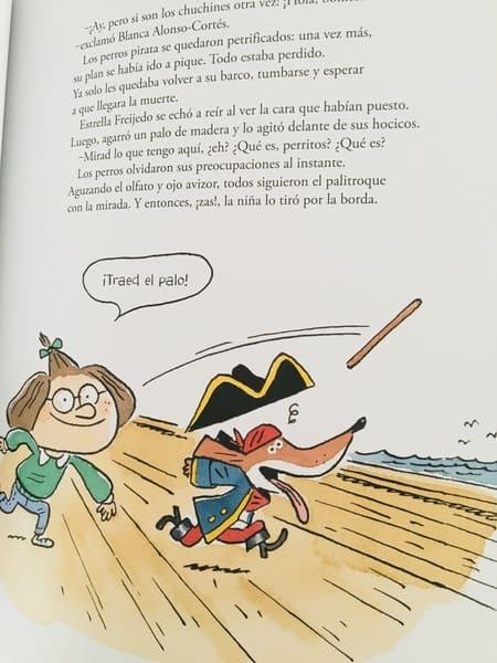 perros pirata ilustraciones