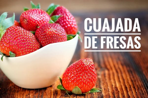recetas con fresas