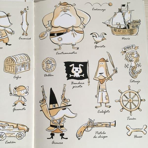 vocabulario pirata