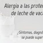 Alergia a las proteínas de la leche de vaca