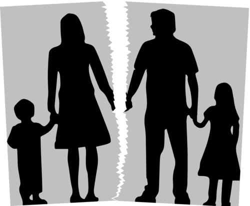 separación con niños