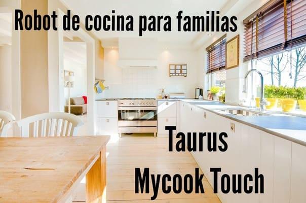 robot Taurus MyCook touch
