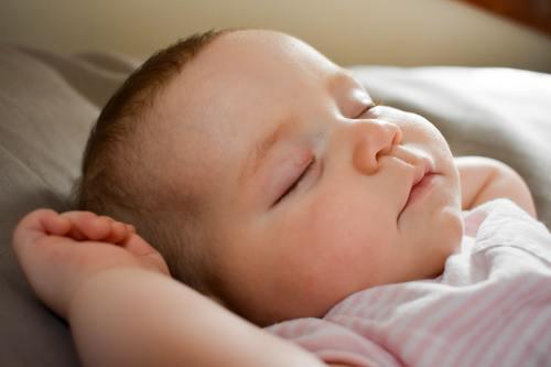 bebe dormido seguridad