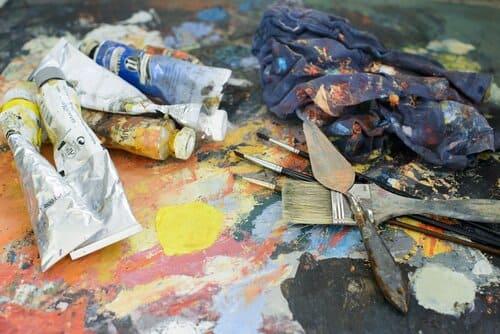 material dibujo y pintura niños