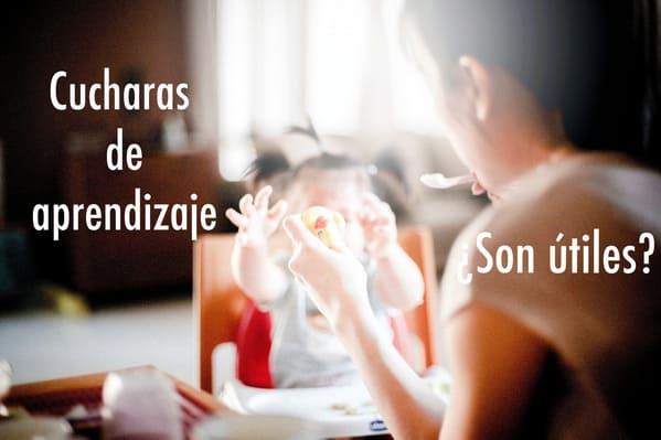 cucharas de aprendizaje bebe