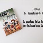 Leemos: Los Forasteros del Tiempo: La aventura de los Balbuena con los inventores del fútbol.