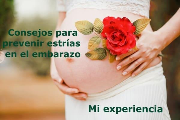 prevenir las estrías en el embarazo