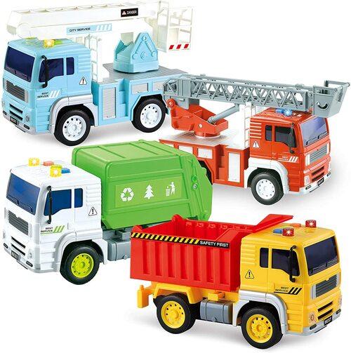 camiones juguetes