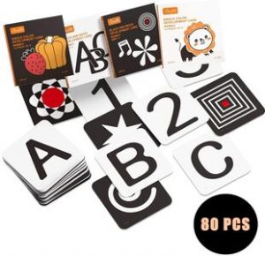 tarjetas estimulación visual para bebés