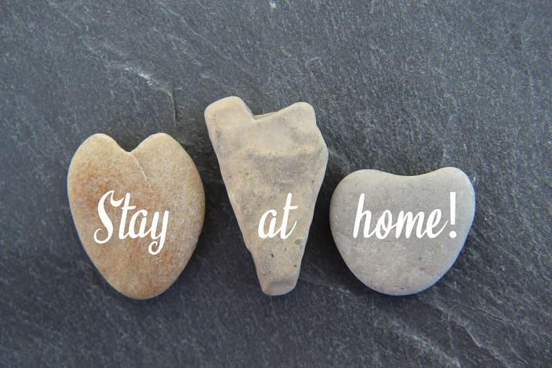 quedate en casa stay at home aniversario confinamiento