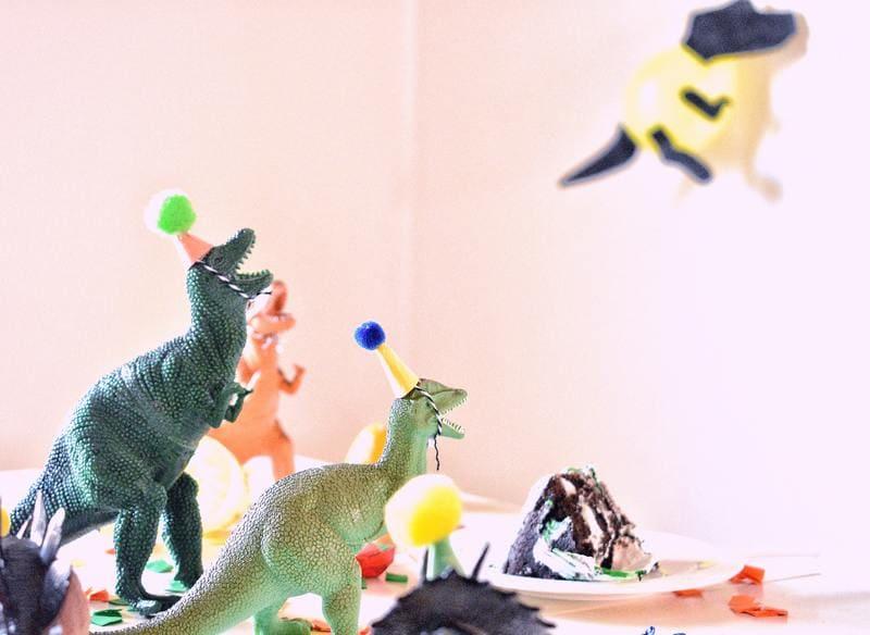 dinosaurios en fiesta infantil tematica