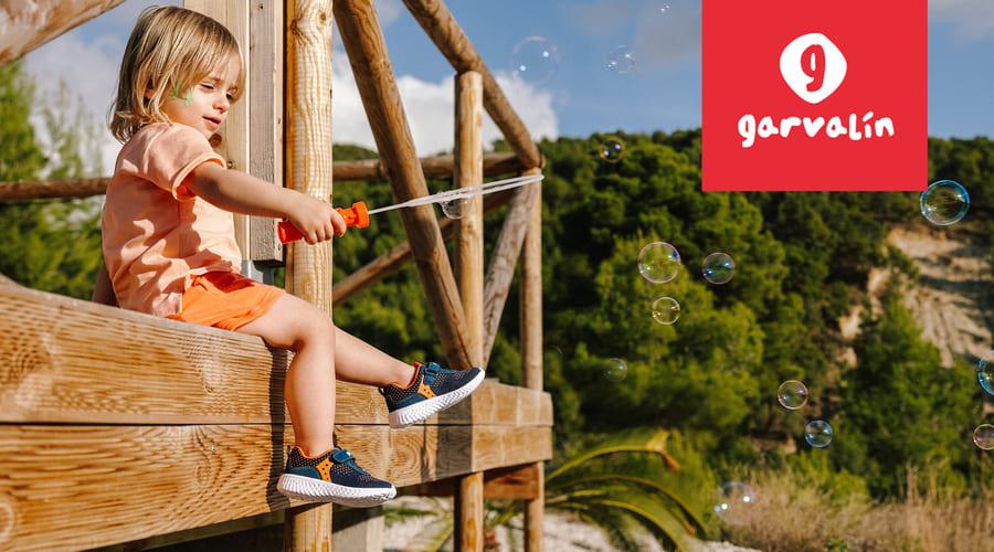 garvalin, calzado de verano para niños