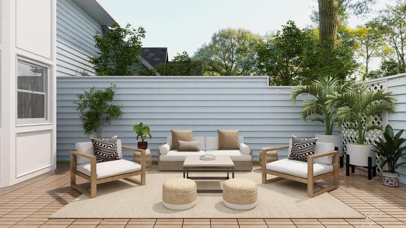 ideas de decoracion terraza jardin