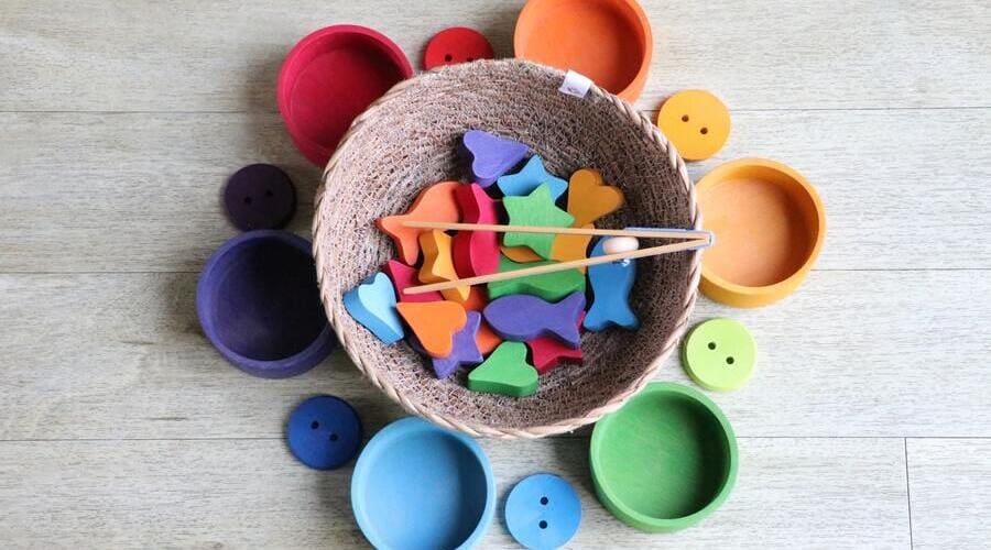 juguetes montessori para niños de 1 a 2 años