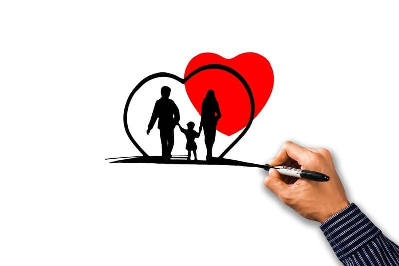 proteger y cuidar de la familia
