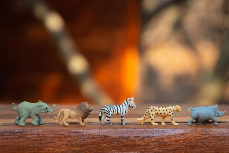 animales juguetes para niños