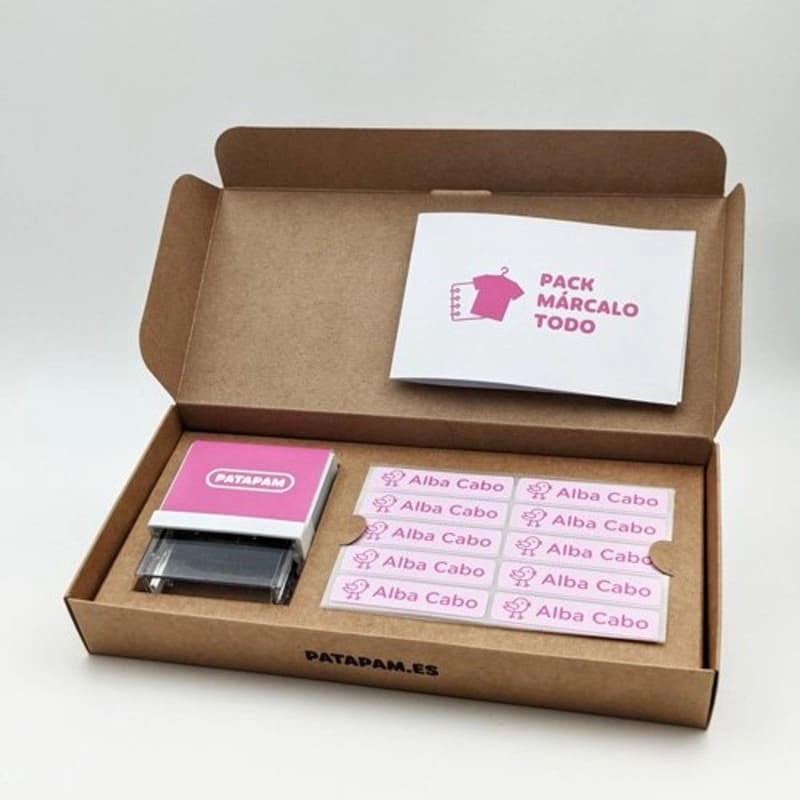 Sello-etiquetas-marcar-ropa-patapam-modelo-rosa