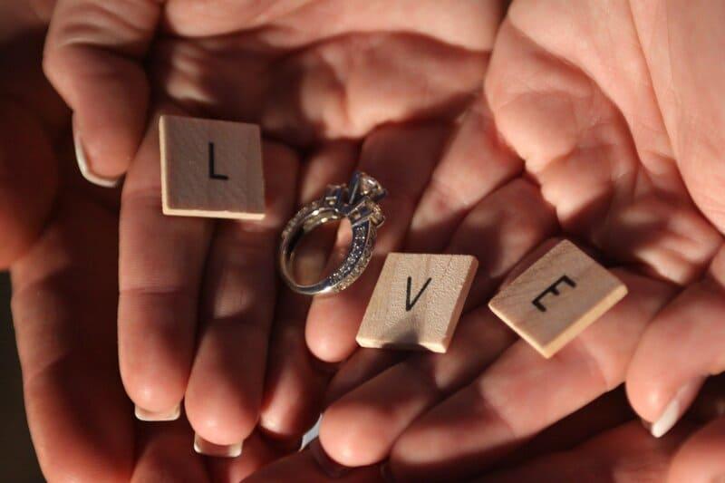 anillo para regalar a una mdre